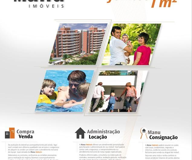 Publicidade em Brasília para Manu Imóveis